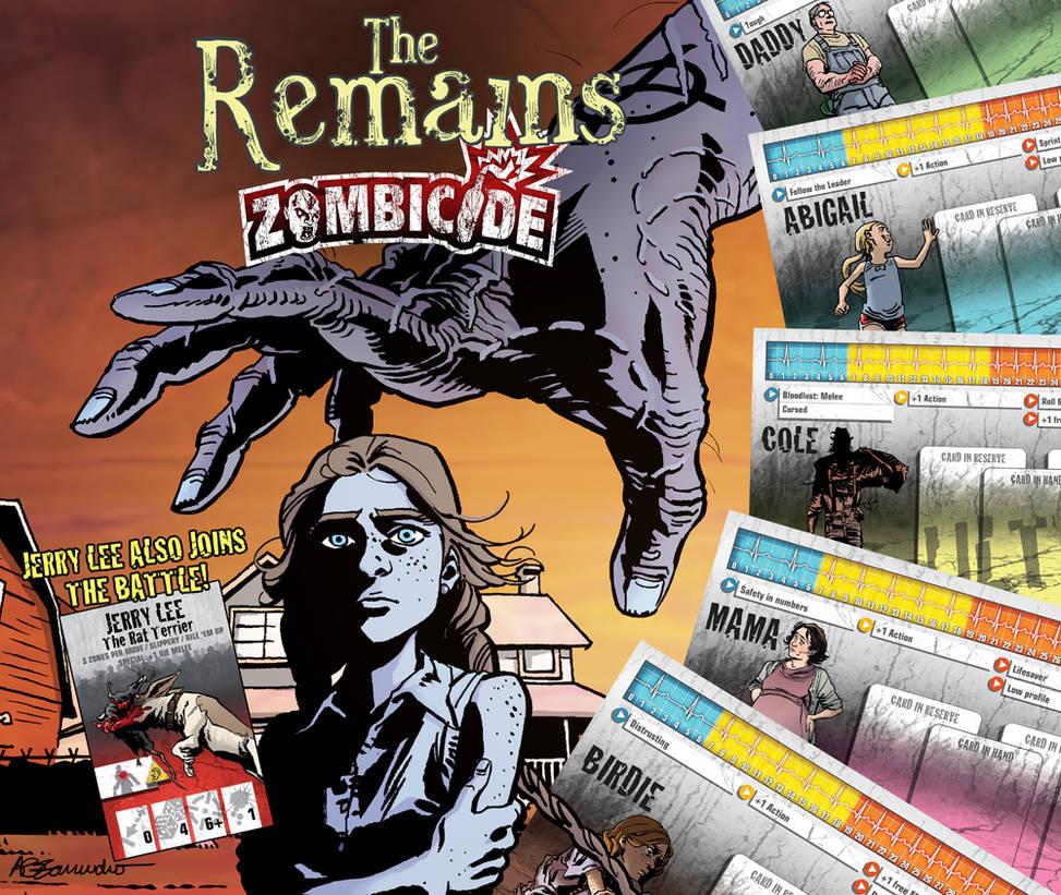 The Remains Zombicide Survivor Pack