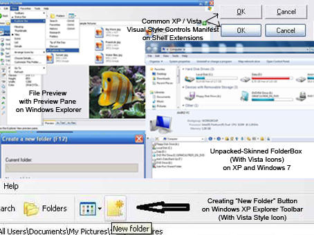 Great Windows Explorer Tools by AMIRSYAHRANI
