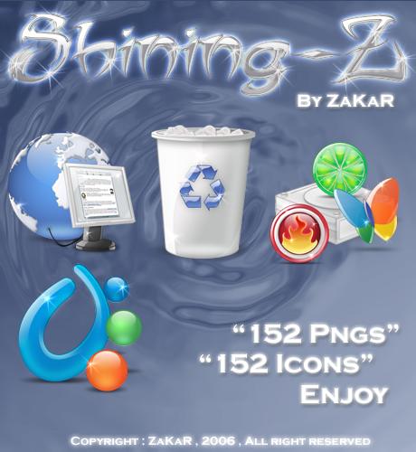 Release Shining-Z pack by ZaKaR