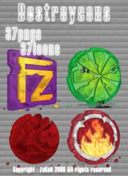 Pack Destroycons by ZaKaR