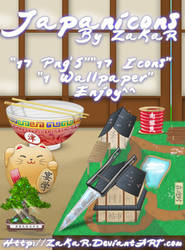 Japanicons Pack by ZaKaR