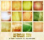 African Sun icon textures
