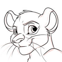 Lion Free Lineart