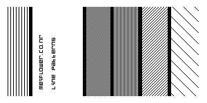 Line pattern Brushes