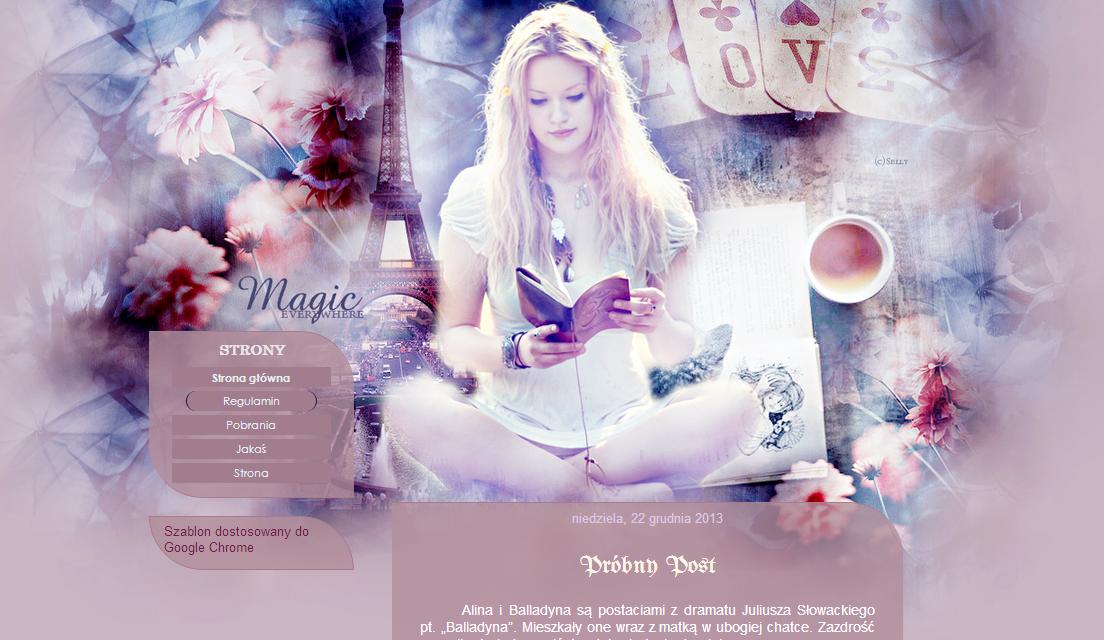 Szablon Magic by yoLittleJade