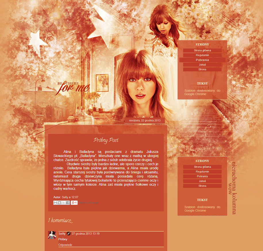 Szablon Taylor by yoLittleJade