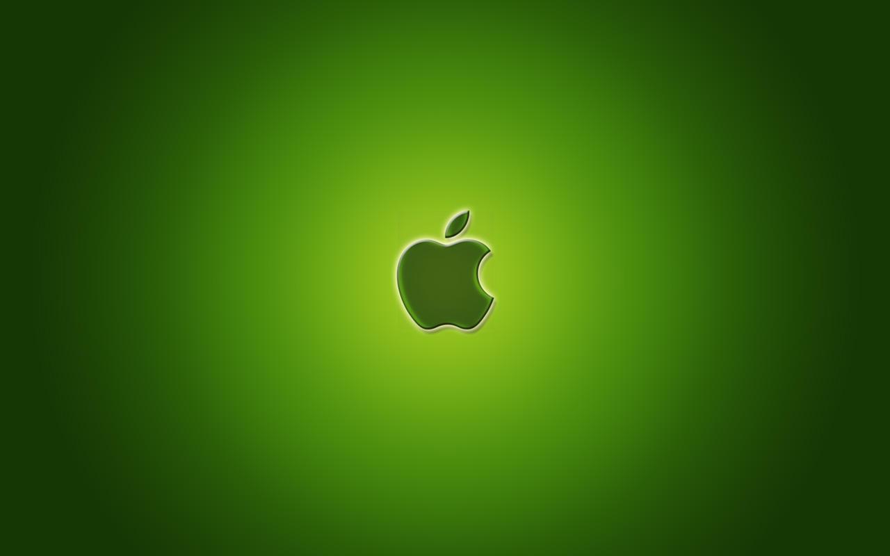 Green Apple Logo Wallpaper by a l e x x gay fucked in the ass horny wet ass