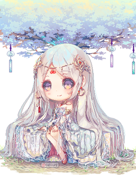 C|Amaterasu Custom Animated Pixel Chibi