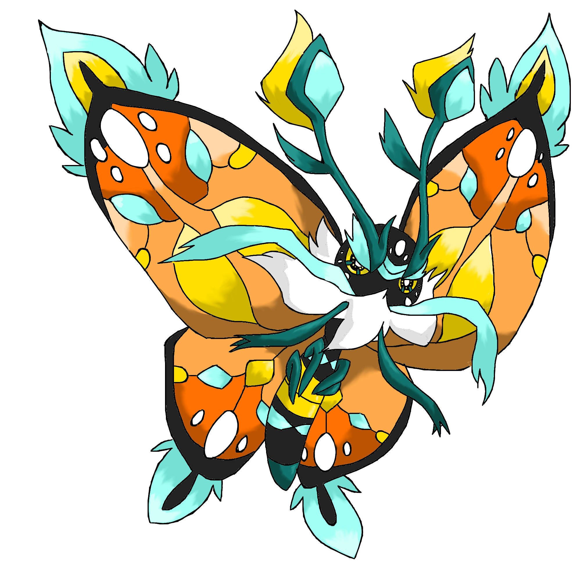 monarch butterfly legendary by toldentops on deviantart