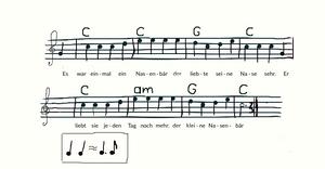 Music of the Nasenbaer song