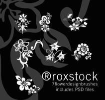 7 highresolution FlowerDesign by RoxStock