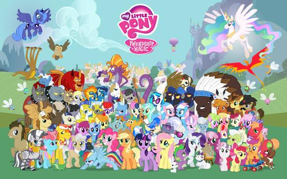 16:10 Comic Con Pony Wallpaper
