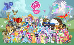 16:10 Comic Con Pony Wallpaper