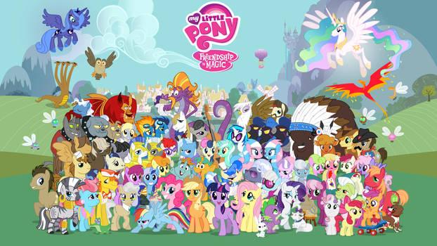 16:9 Comic Con Pony Wallpaper