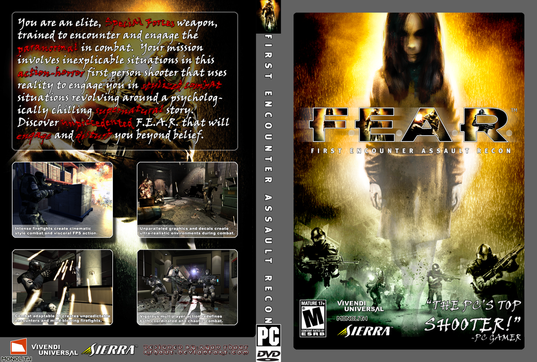 f e a r dvd case cover by rthaut on deviantart