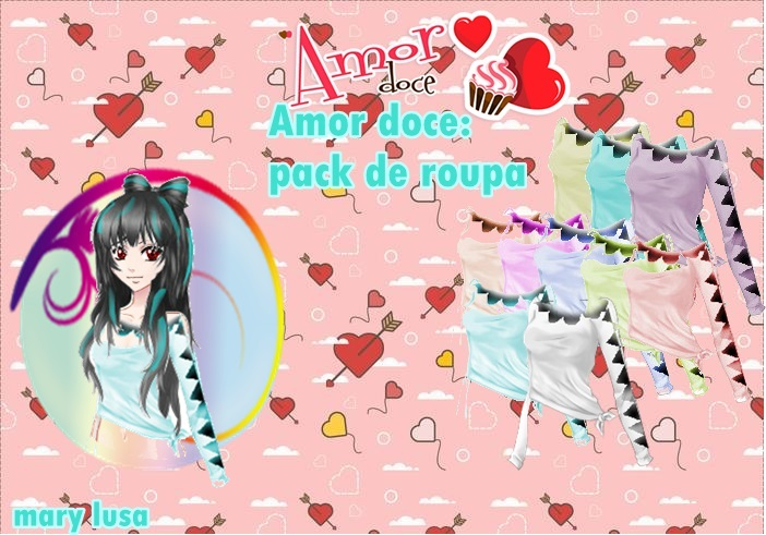 Pack amor doce (boutique) blusas 2018 by Marylusa18