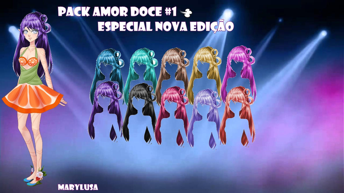 PACK PERUCAS AMOR DOCE (ESPECIAL)#1 by Marylusa18