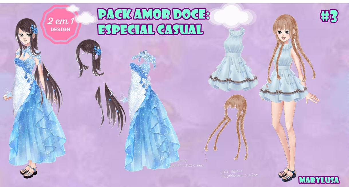 PACK AMOR DOCE ESPECIAL CASUAL 3 by Marylusa18