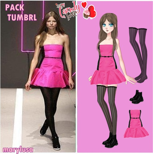 PACK AMOR DOCE TUMBRL by Marylusa18