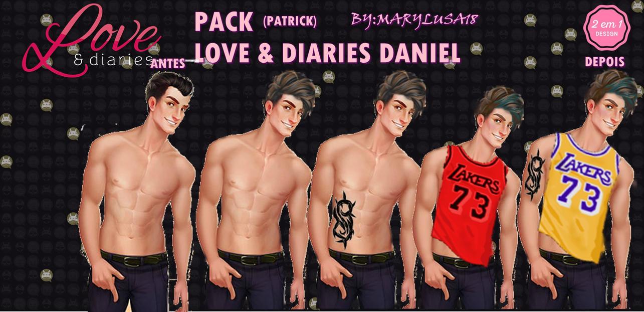 PACK (NOVO) LOVE E DIARIES (PATRICK) by Marylusa18
