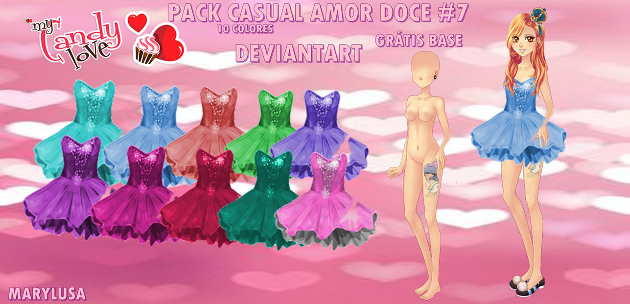 PACK CASUAL AMOR DOCE #7 by Marylusa18