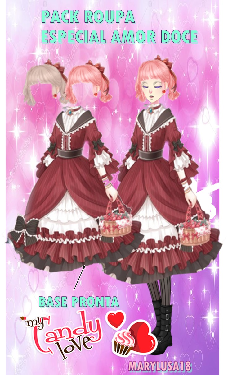 AMOR DOCE--PACK ROUPA ESPECIAL (PEDIDO) by Marylusa18