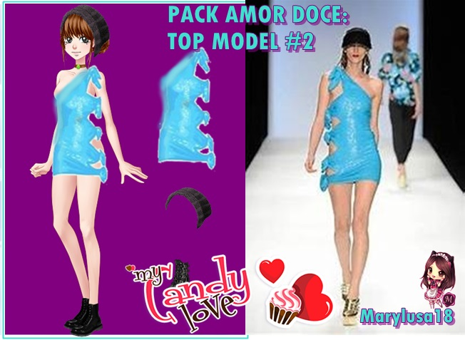 Pack amor dulce - Top model 2 by Marylusa18