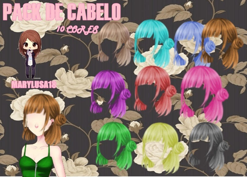 PACK DE CABELO AMOR DOCE by Marylusa18