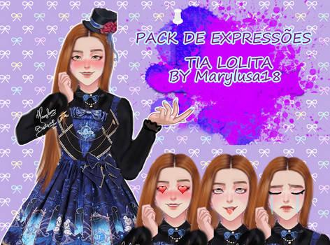 PACK AMOR DOCE Expression Tia lolita