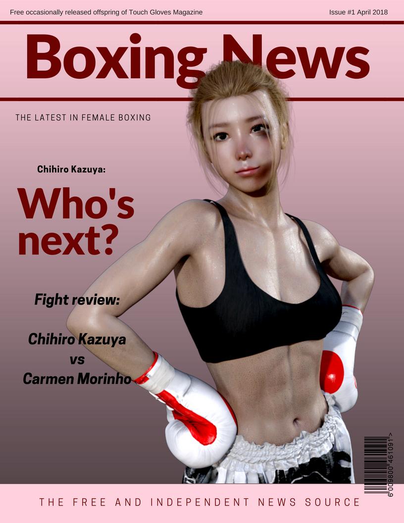 Boxing News Issue 1 by suzukishinji