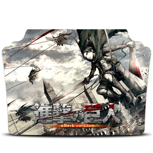 Shingeki no Kyojin v2 Folder Icon by kurozaka-icons on ...