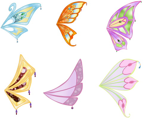Winx Club Wing Base Pack Enchantix by WinxFandom