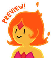 Flame Princess Animation by pSarahdactyls