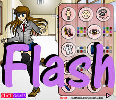 Flash Doll: School Girl by Pacthesis