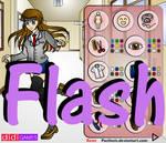 Flash Doll: School Girl