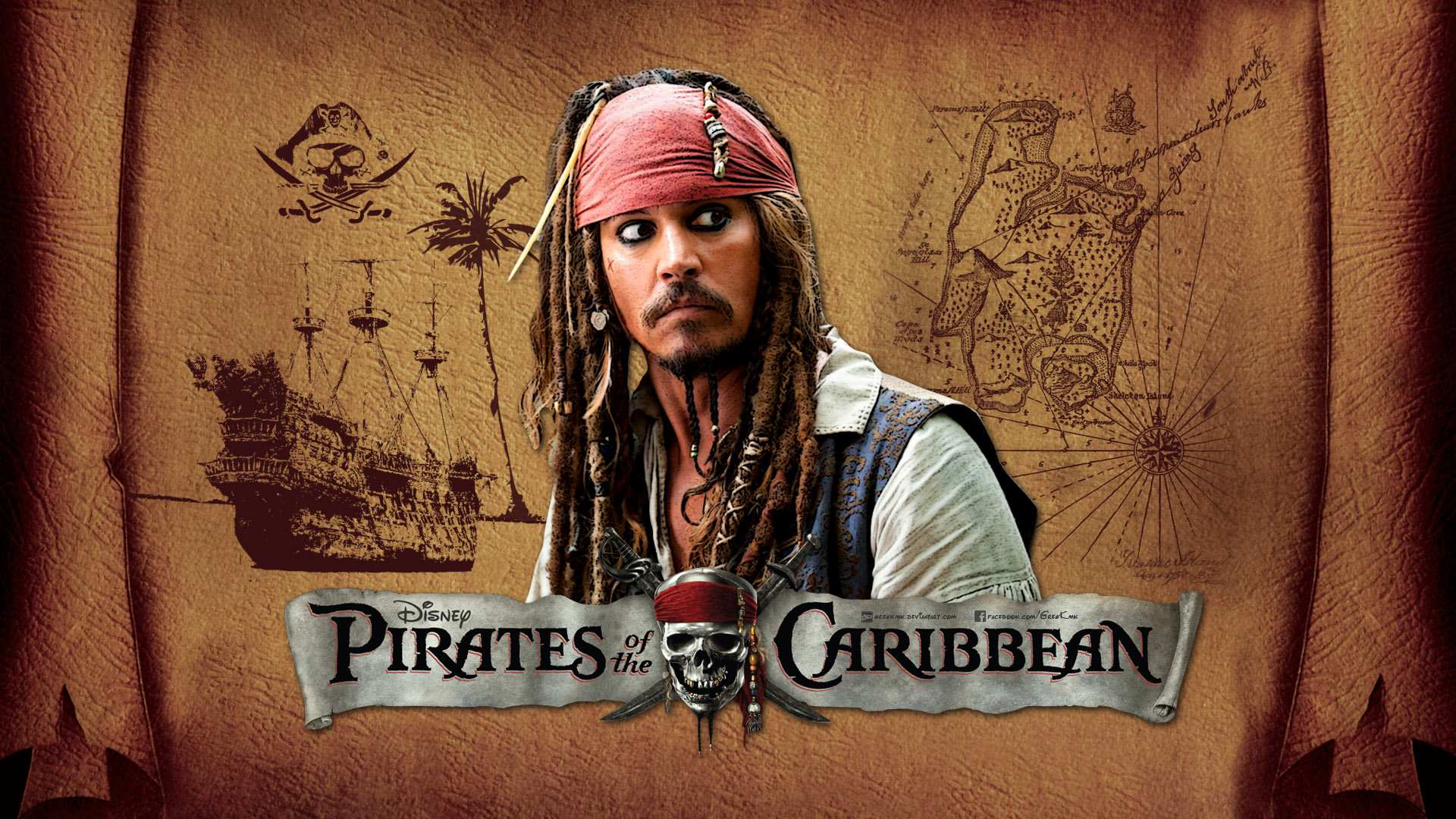 Pirates Of The Caribean Wallpaper: Pirates Of The Caribbean Wallpaper By GregKmk On DeviantArt