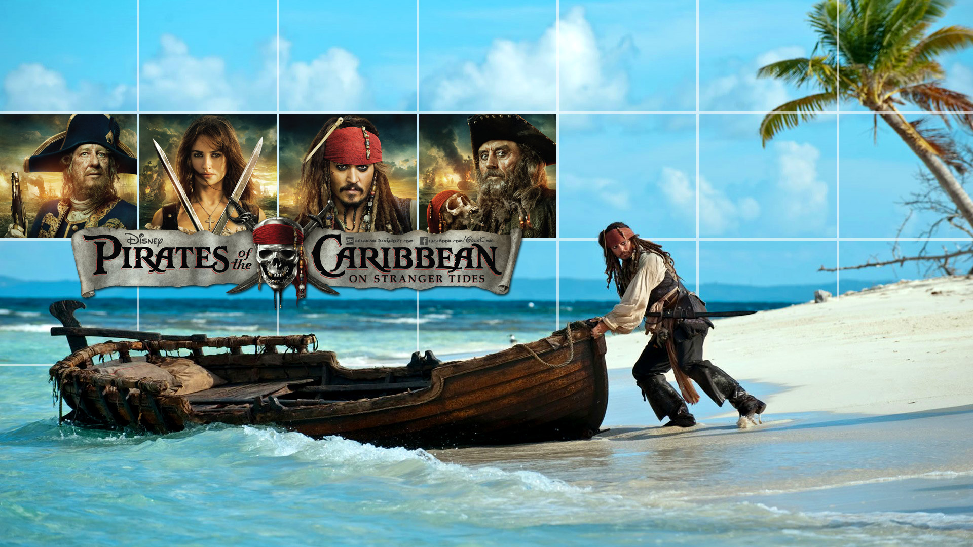Pirates Of The Caribbean Wallpaper 2 By Gregkmk On Deviantart