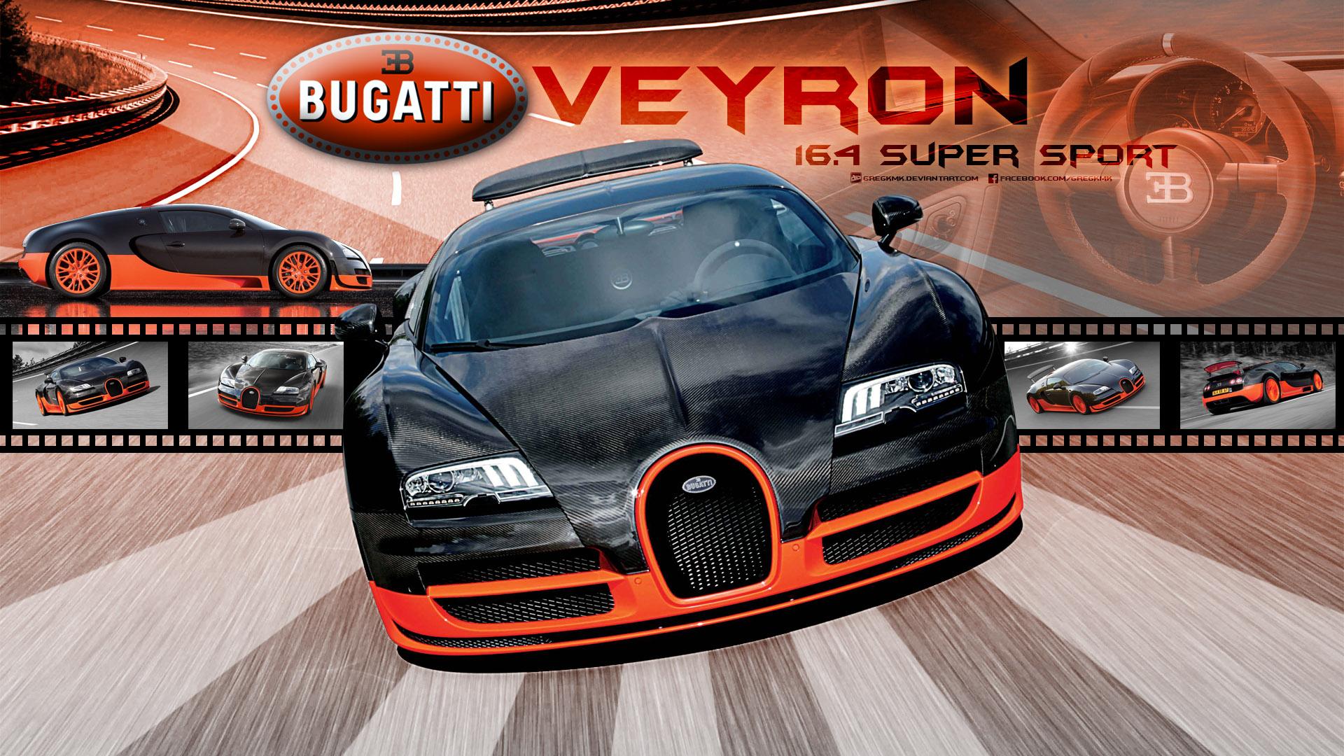 bugatti veyron wallpaper by gregkmk bugatti veyron wallpaper by gregkmk - Bugatti Veyron Super Sport Top Gear Wallpaper