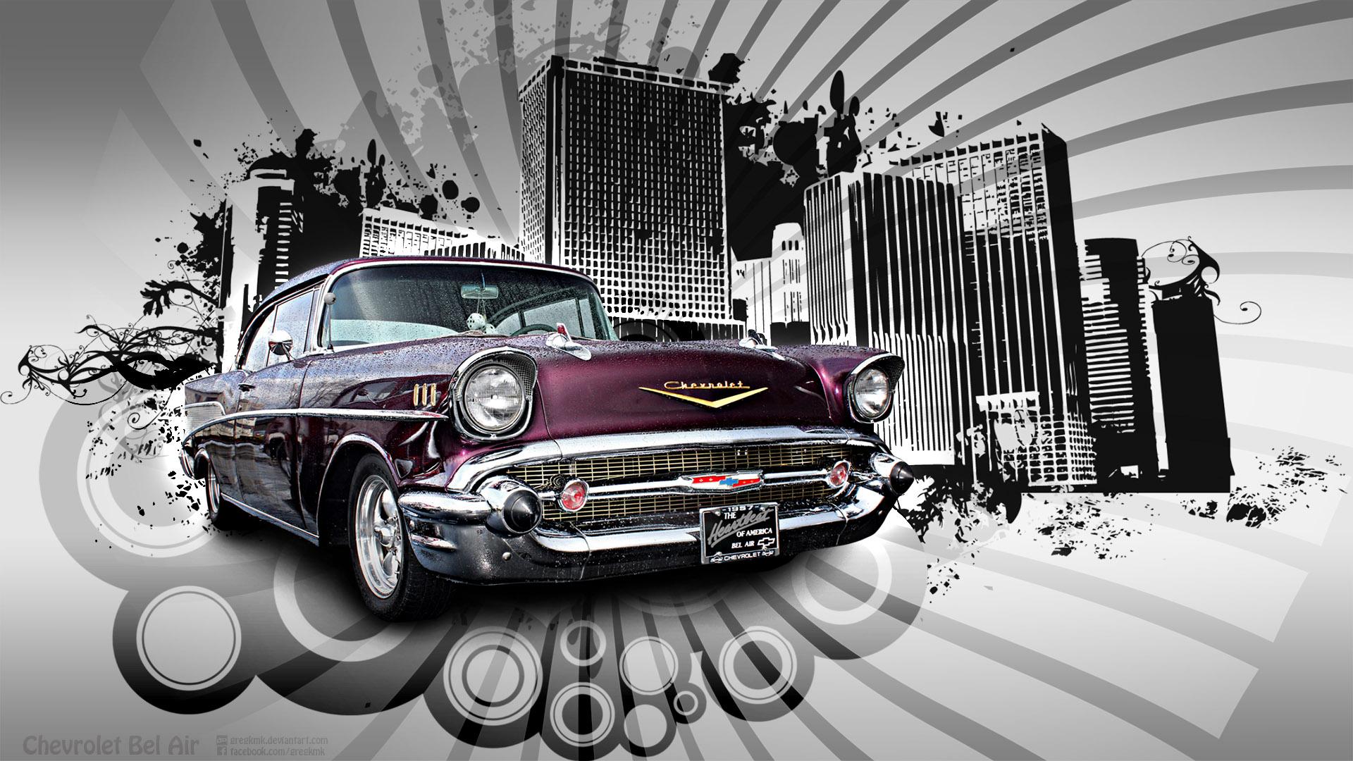 Chevrolet Bel Air Wallpaper 2 by GregKmk on DeviantArt