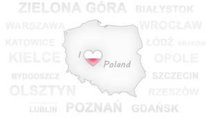 I Love Poland Wallpaper