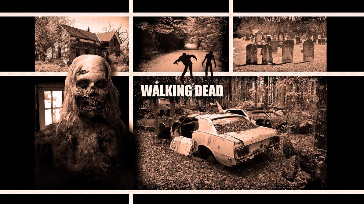 The Walking Dead Wallpaper by GregKmk