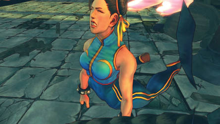 USF4 Oni Beats Chun Li by Themilkguy