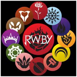 RWBY: Emblems || Insignias by hjpenndragon