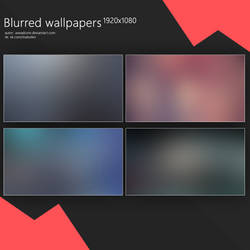 Blurred wallpapers 1920x1080 by aveadcore