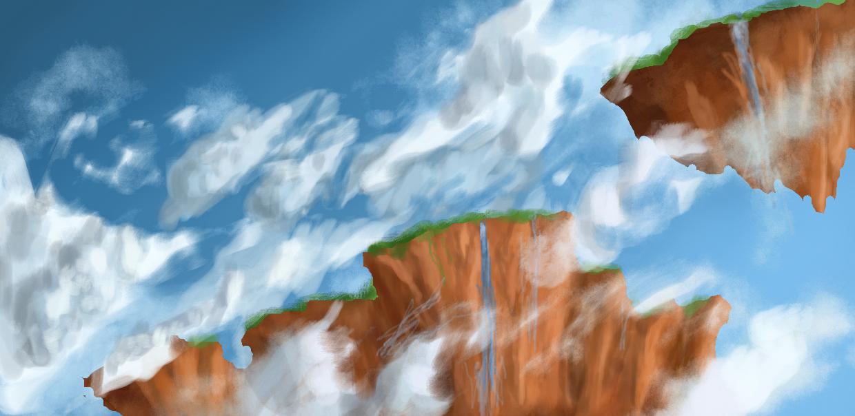 Skies of Erdol by Terranimperial