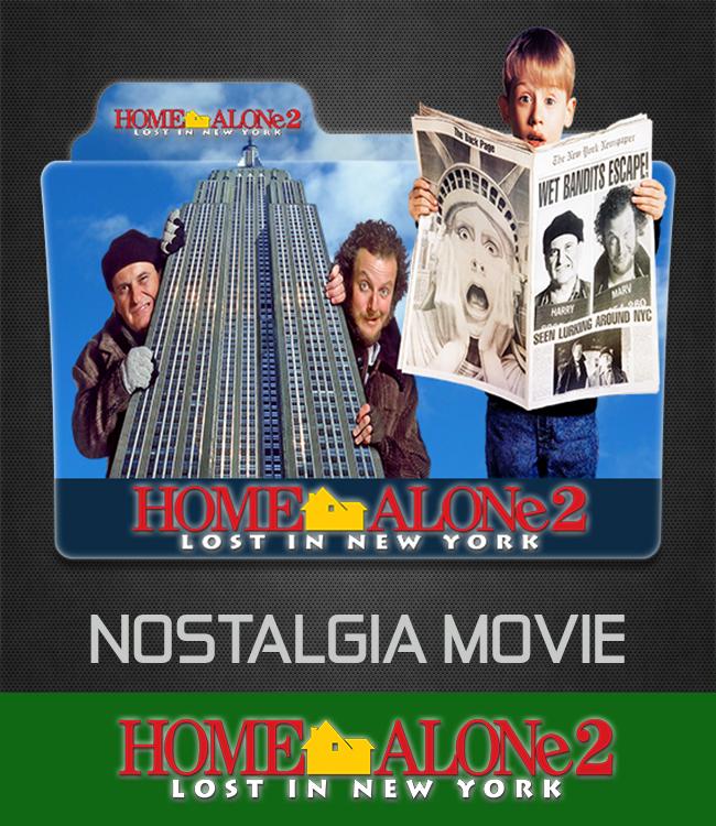 Home Alone 2 Lost In New York 1992 Folder Icon By Ahmternbrs60 On Deviantart
