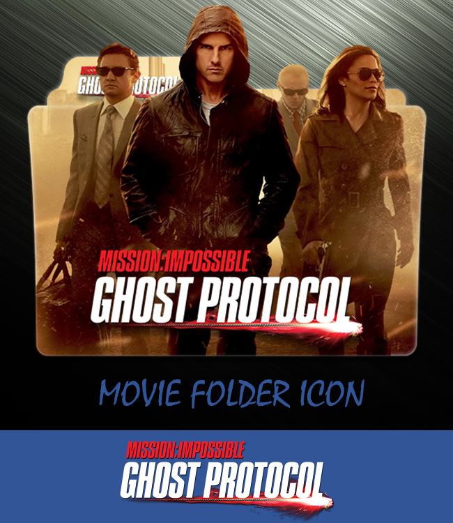 Mission Impossible 4 2011 Folder Icon By Ahmternbrs60 On Deviantart