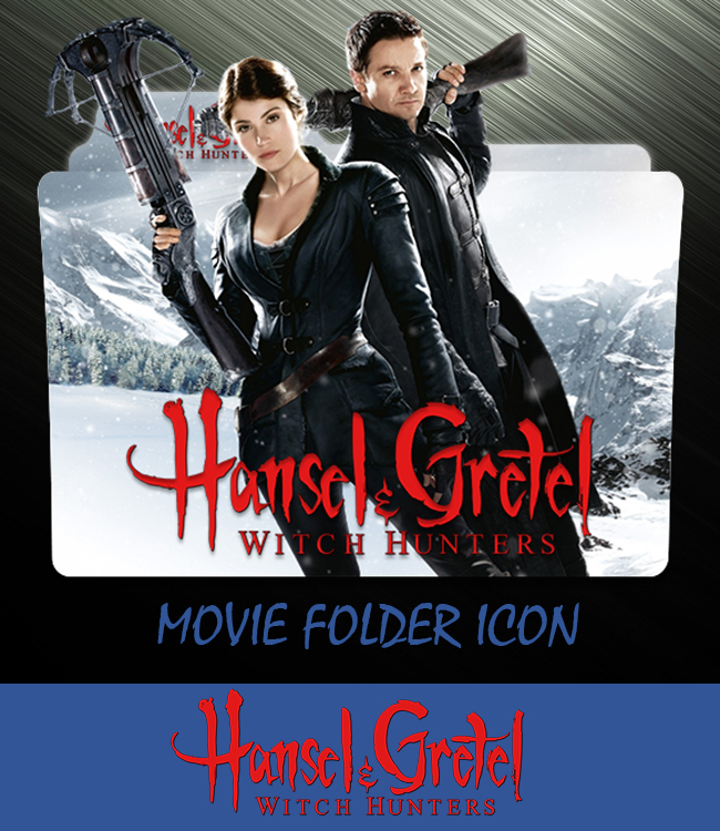 Hansel And Gretel Witch Hunter 2013 Folder Icon By Ahmternbrs60 On Deviantart