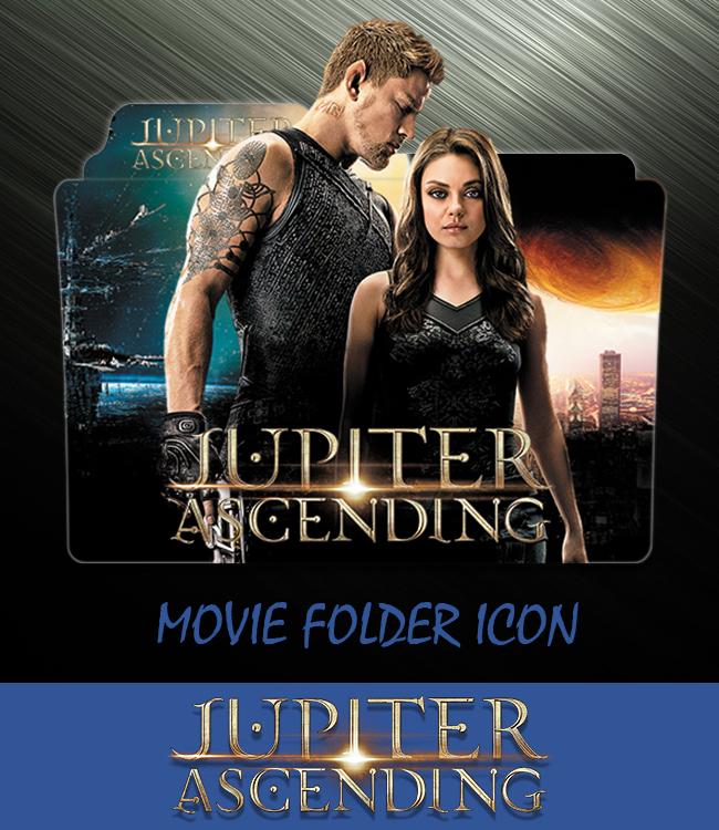 Jupiter Ascending 2014 Folder Icon By Ahmternbrs60 On