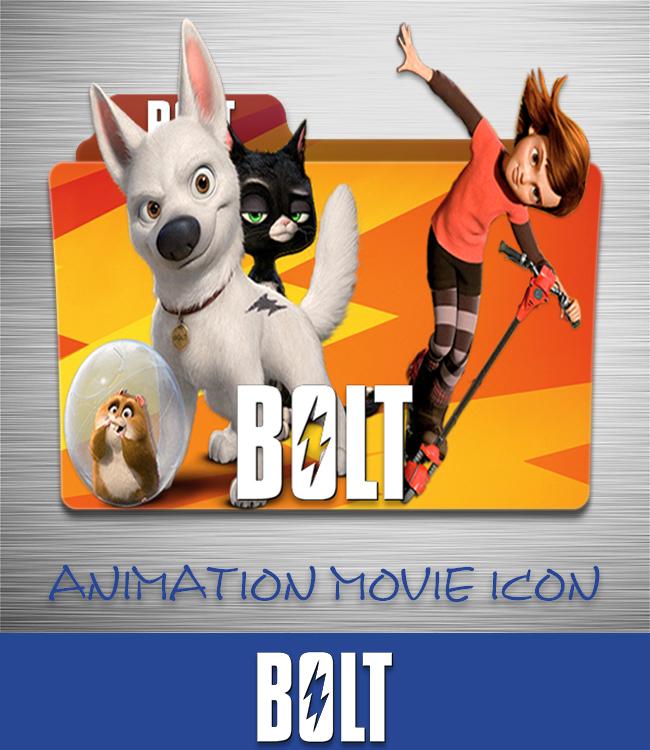 Bolt 2008 Folder Icon By Ahmternbrs60 On Deviantart